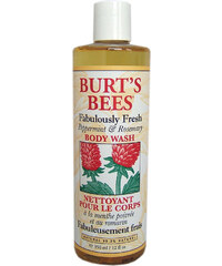 Burt's Bees Body Wash with Peppermint & Rosemary Duschgel Körperpflege 350 ml