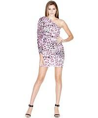 Guess by Marciano Šaty Nouveau Leopard Shoulder Dress
