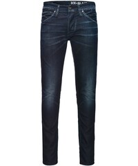 JACK & JONES Glen JJFOX bl 623 Indigo Strick Slim Fit Jeans