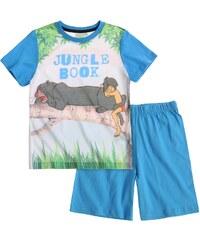 Disney Das Dschungelbuch Shorty-Pyjama blau in Größe 104 für Jungen aus 100% Baumwolle Body: 100% Polyester