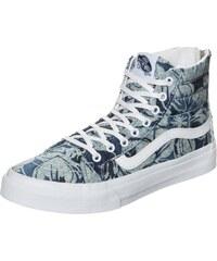 VANS Sk8 Hi Slim Zip Indigo Tropical Sneaker Damen
