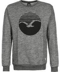 Cleptomanicx Vintage Print Sweater vintage black