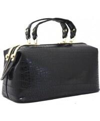 Černá kufříková kabelka Bessie London
