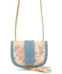 Květovaná kabelka Refresh se střapcem