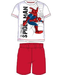 E plus M Chlapecké pyžamo Spiderman - červeno-bílé