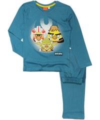 E plus M Chlapecké pyžamo Angry Birds - modré