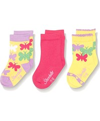 Sterntaler Mädchen Socken Schmetterling, 3er Pack