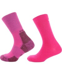 Devold Walker & Daily KID sock 2PK růžová 28 - 30