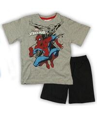 E plus M Chlapecké pyžamo Spiderman - šedé