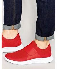 Nike - Free Socfly - Baskets 724851-616 - Rouge