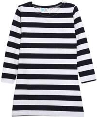 Lesara Kinder-Kleid mit Streifen-Muster - 98