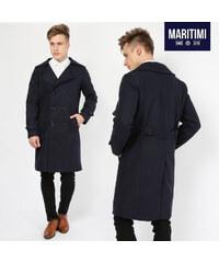 Maritimi Manteau classique avec col à revers