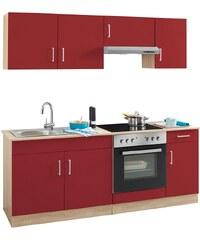 Held Möbel Küchenzeile mit E-Geräten »Melbourne«, Breite 200 cm