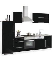 Held Möbel Küchenzeile mit E-Geräten »Samos«, Breite 280 cm