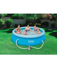 BESTWAY Set: Quick-Up Pool »Fast Set Pool«, mit Filterpumpe, ØxH: 305 x 76 cm