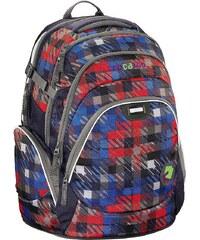 """Coocazoo Rucksack """"JobJobber"""" mit Laptopfach, Dope Square Red »Außenmaße 33 x 46 x 23 cm«"""