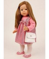 Schildkröt-Puppen Spielpuppe, rosa, »Elli Lindner 52 stehend hellbraun«