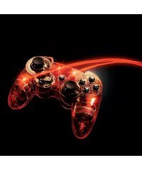 PDP Playstation 3 - Zubehör »Afterglow Wireless Controller - rot«