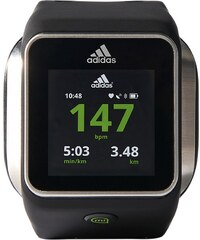 Adidas Performance Pulsuhr Smartwatch, schwarz, »miCoach Smart Run«