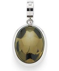 Jewels by Leonardo Charm-Einhänger: Anhänger mit Glasstein, »darlin's colato, 015740«