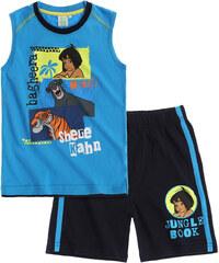 Disney Das Dschungelbuch T-Shirt und Bermuda blau in Größe 104 für Jungen aus 100% Baumwolle