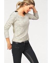 AJC Damen Sweatshirt weiß 32/34 (XS),36/38 (S),40/42 (M),44/46 (L)
