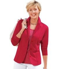 COLLECTION L. Damen Collection L. Jersey-Blazer trageangenehm und überzeugend pflegeleicht rot 36,38,40,42,44,46,48,50,52,54