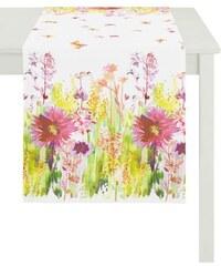 Tischdecke 6100 SUMMER GARDEN APELT rosa Mitteldecke 130/130 cm,Mitteldecke 90/90 cm,Tischdecke 140/250 cm,Tischläufer 48/140 cm