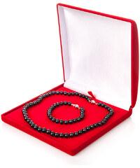 Buka Krabička na soupravu šperků – červená 926