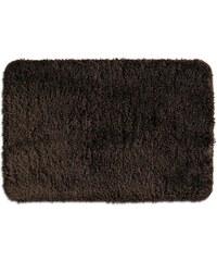 Koupelnová předložka LIVANA 100% polyester 66x55cm hnědá KELA KL-20683