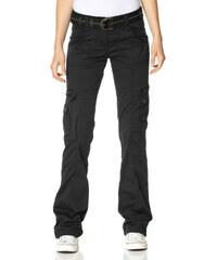 BOYSEN'S Strečové cargo kalhoty, Flashlights černá - Kratší/delší provedení (K,L)