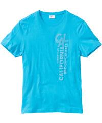 bpc bonprix collection T-shirt bleu manches courtes homme - bonprix