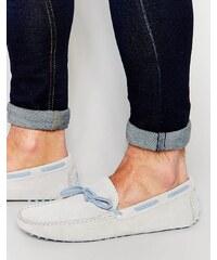 Bobbies - L'Artiste - Chaussures de conduite en daim - Gris