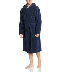 Tommy Hilfiger Herren Bademantel Icon Hooded Bathrobe
