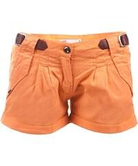 Dámské oranžové šortky VOLCANO