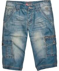 Pánské světlé džínové kraťasy VOLCANO