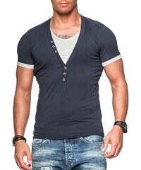 Pánské tmavě modré tričko CARISMA