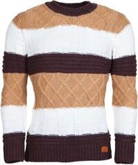 Pánský pruhovaný svetr YOUNG & RICH