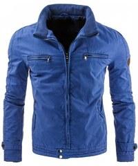 Pánská bunda Deveraux modrá - modrá