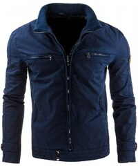 Pánská bunda Deveraux tmavě modrá - dark modrá