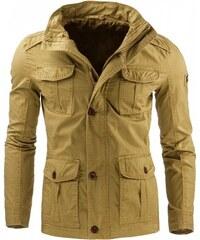 Pánská bunda Maxfield khaki - KHAKI