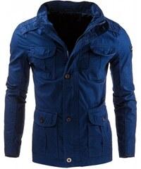 Pánská jarní bunda Maxfield modrá - modrá