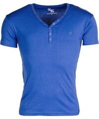 Pánské modré triko YOUNG & RICH Basic