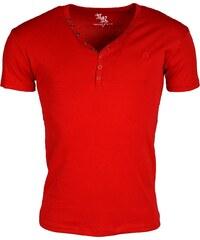 Pánské červené triko YOUNG & RICH Basic