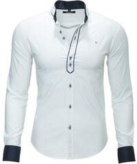 Pánská bílá košile CARISMA slim
