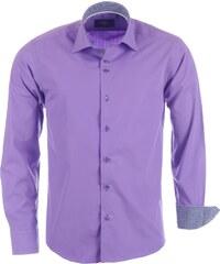 Pánská fialová košile BINDER DE LUXE