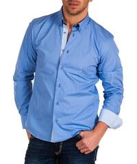 Pánská světle modrá košile BINDER DE LUXE