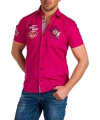 Pánská růžová košile BINDER DE LUXE - Champion Pink