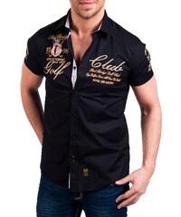 Pánská černá košile REDBRIDGE