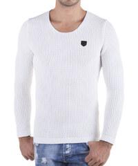 Pánský bílý svetr REDBRIDGE
